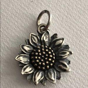 New, in box James Avery  , sunflower.